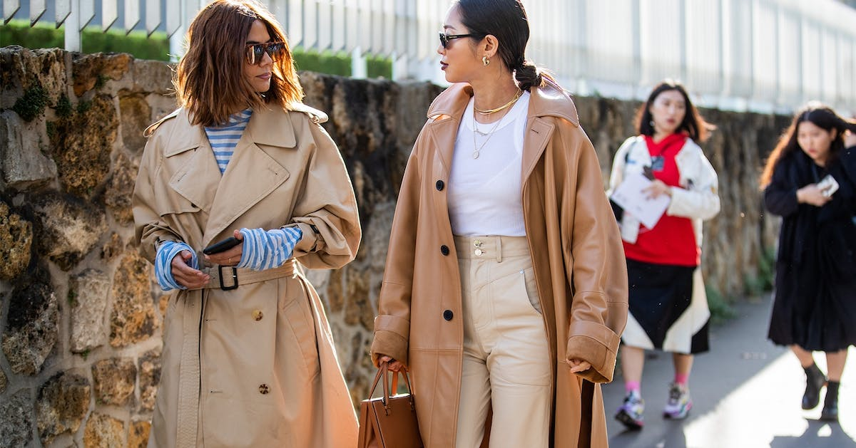 The classic trench coat just got a serious makeover at Paris Fashion Week