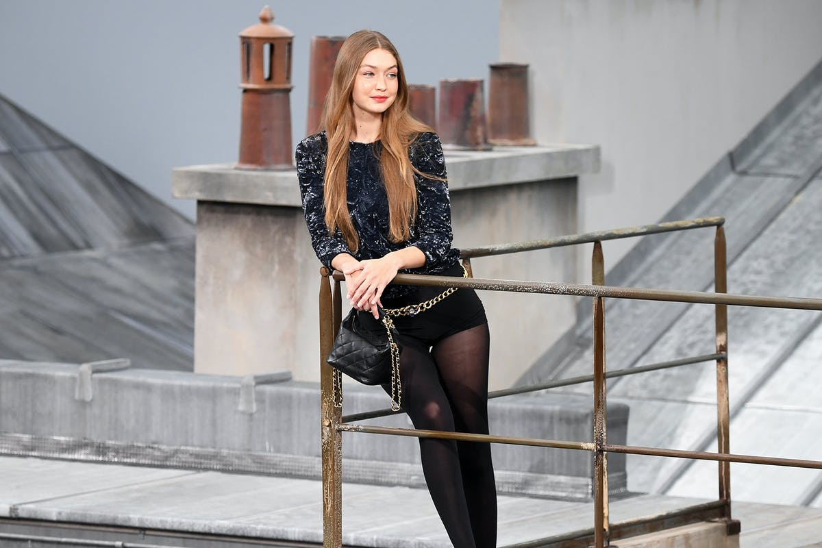 How fashion superhero Gigi Hadid saved the Chanel show from a catwalk invasion
