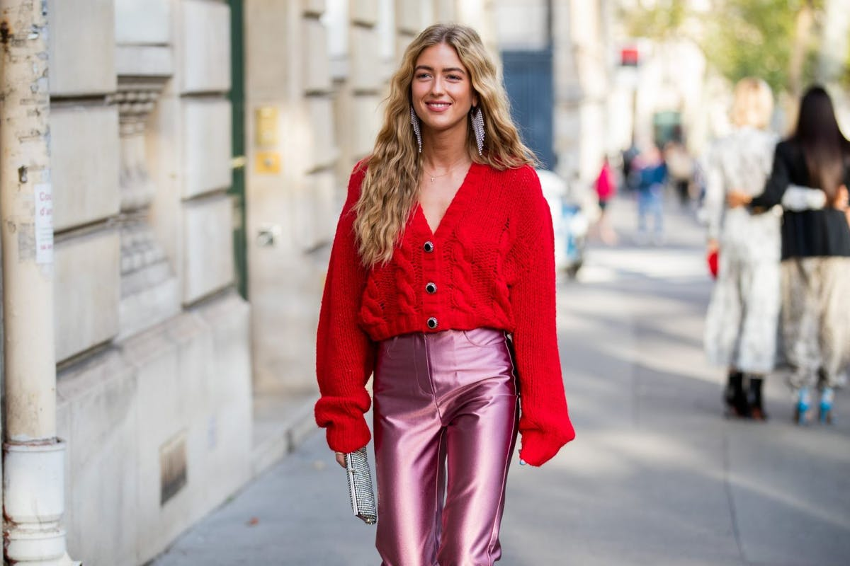The cardigan is back, and there's a fresh new way to style it
