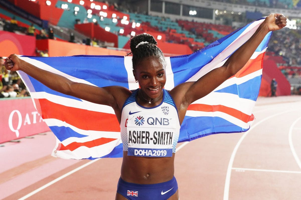 Dina Asher-Smith reveals the relatable secret behind making sports history