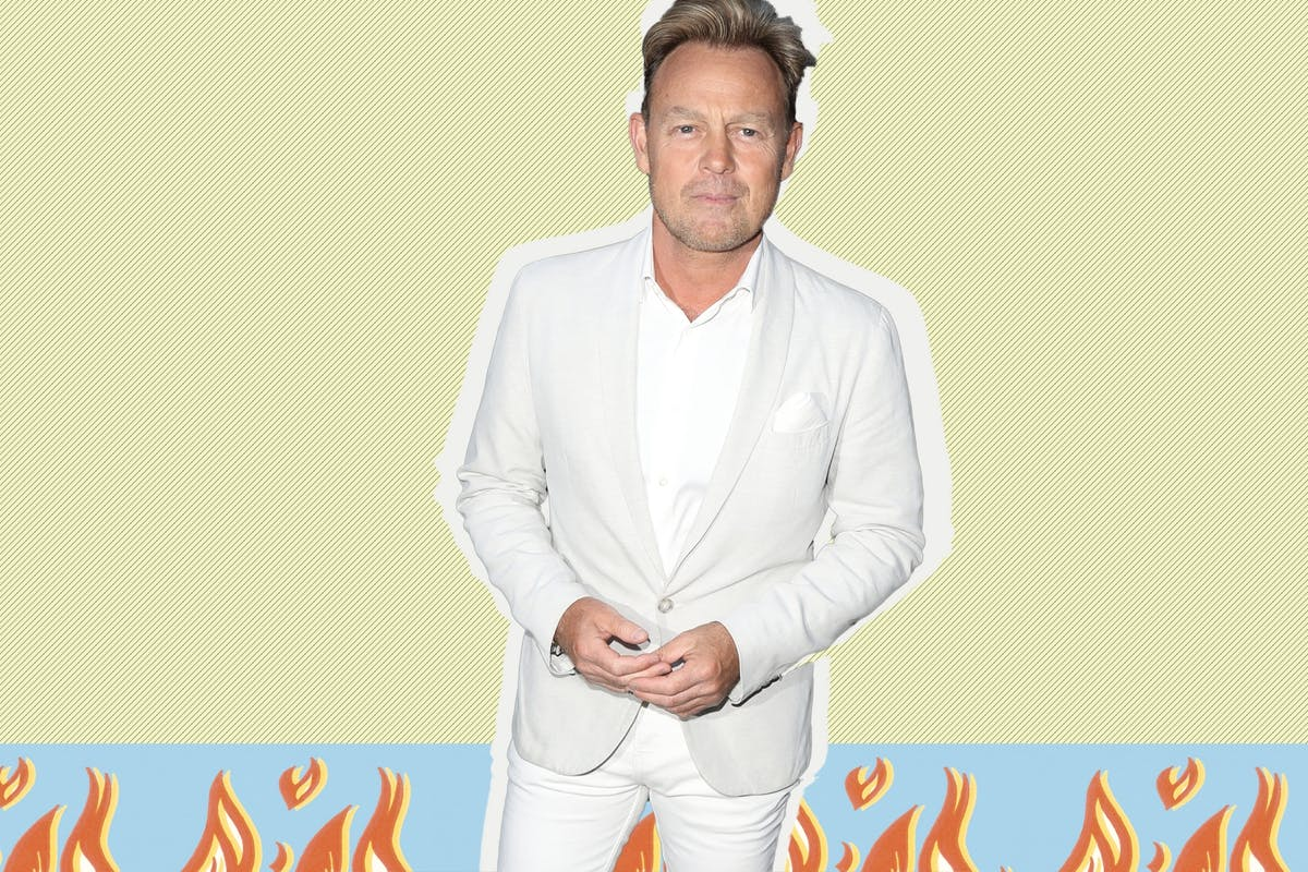 Jason Donovan tackles fire at neighbour's house in underwear