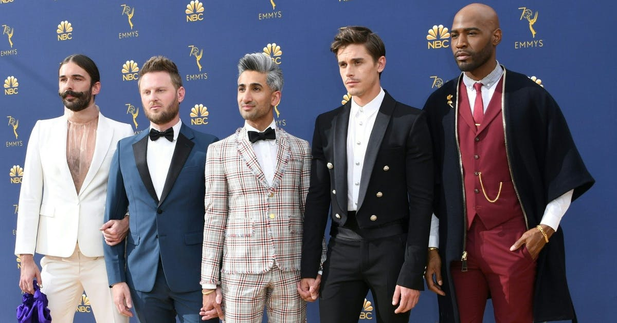 Queer Eye's Jonathan Van Ness shares his tribute to Bruley the French Bulldog