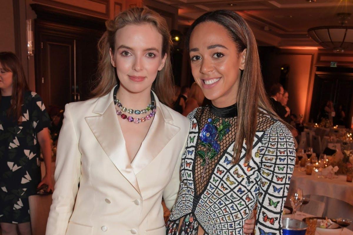 Am Katarina Model jodie comer and katarina johnson-thompson are best friends