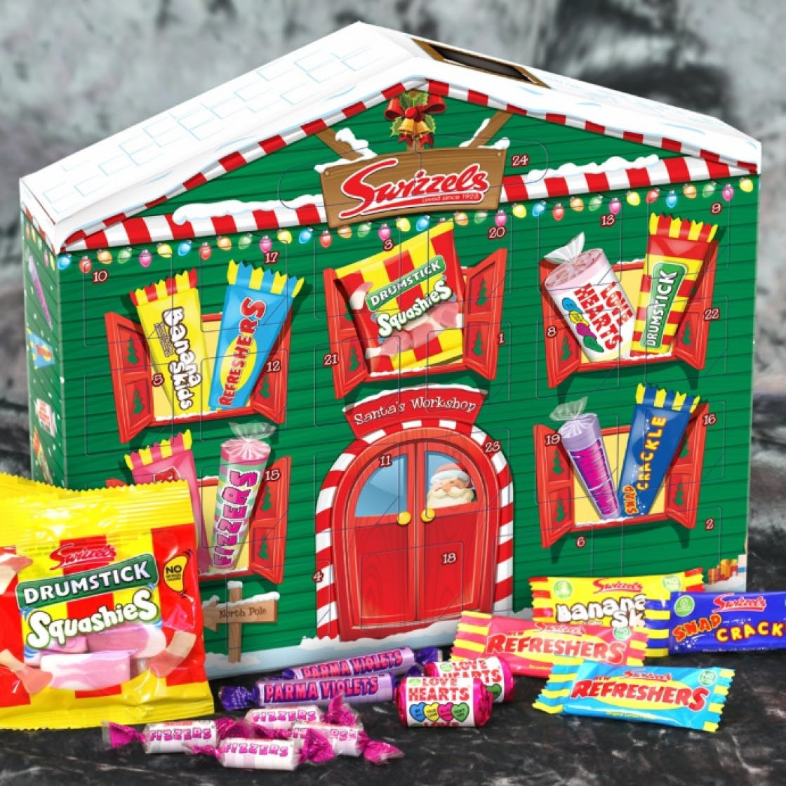 best advent calendars 2019 classic chocolate and sweets. Black Bedroom Furniture Sets. Home Design Ideas