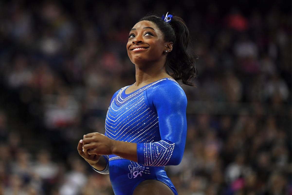 Every single time Simone Biles' record-breaking routines inspired us