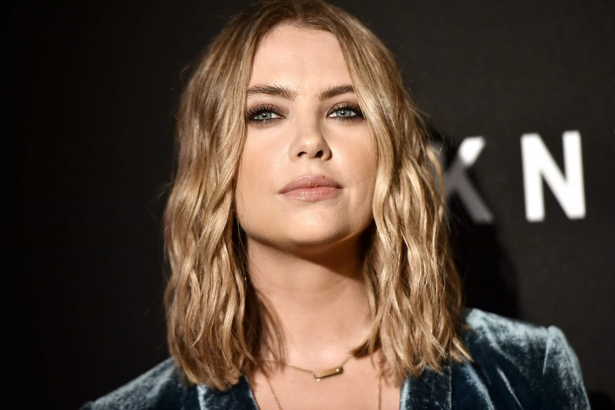 Ashley Benson has just dyed her signature blonde hair
