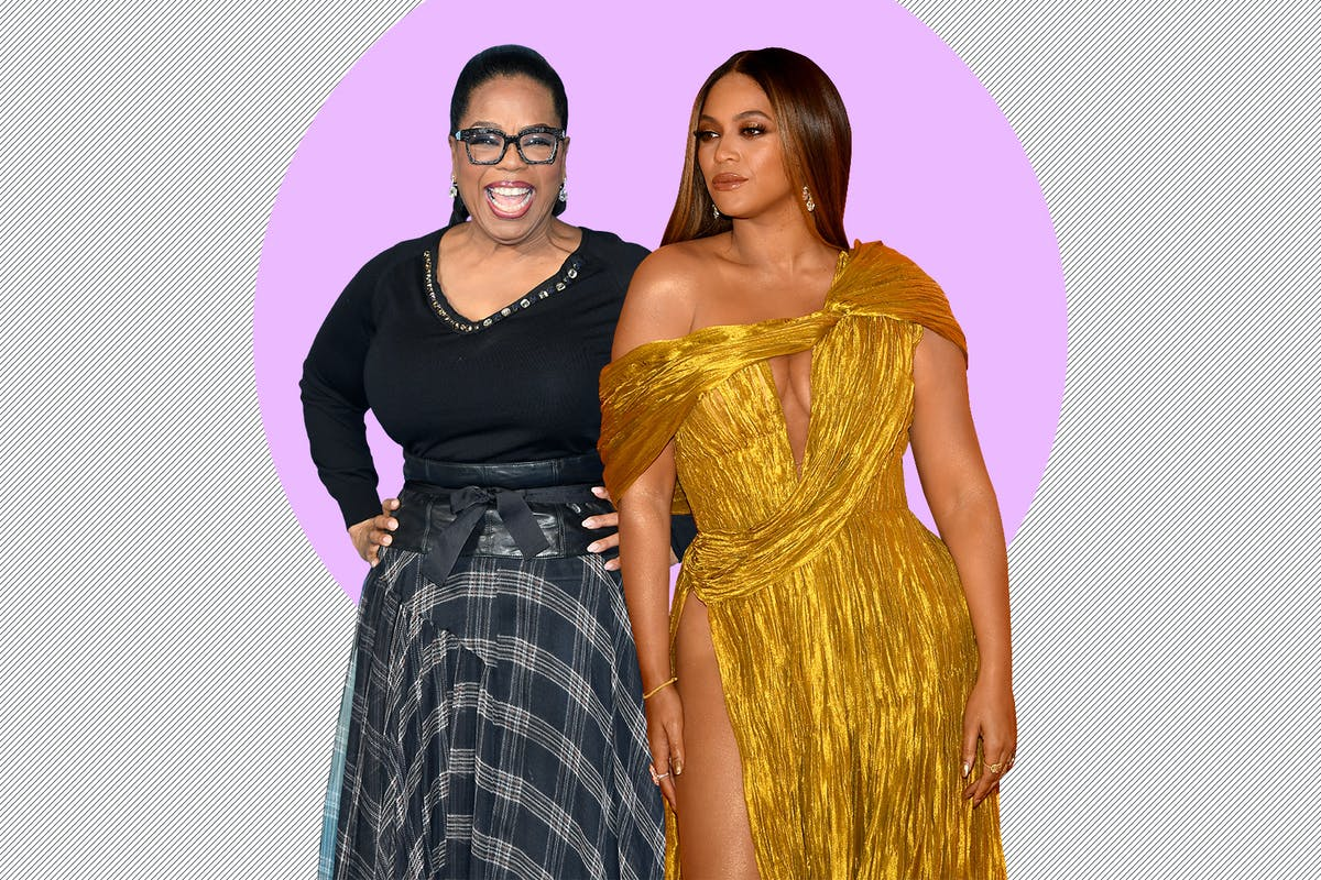 beyonce oprah winfrey inspirational woman