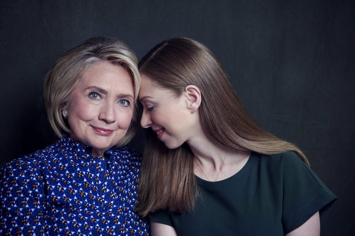 Hillary and Chelsea Clinton interview