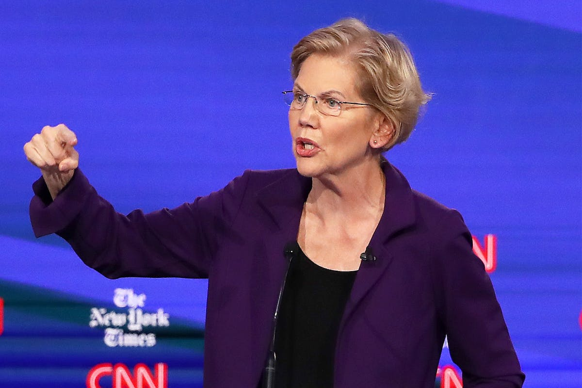 "Elizabeth Warren hits back at Joe Biden with ""thanks Obama"" jibe – and Twitter can't resist it"