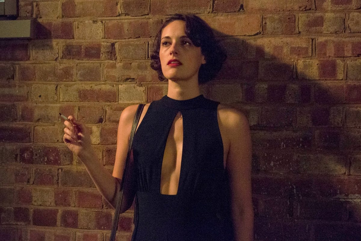 Phoebe Waller-Bridge as Fleabag in the iconic black jumpsuit