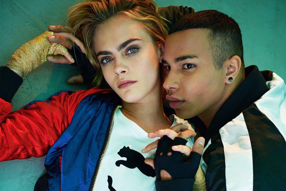 Cara Delevingne teams up with Puma and Balmain for epic fashion collaboration