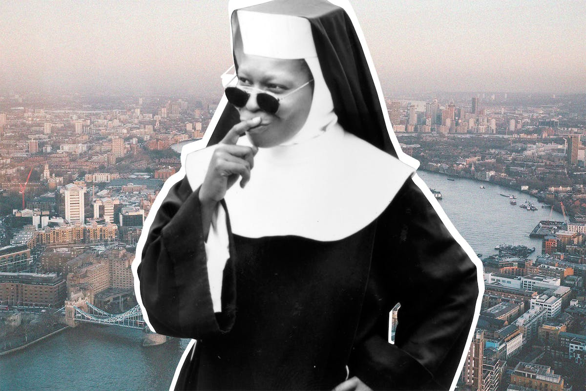 Whoopi Goldberg in Sister Act musical