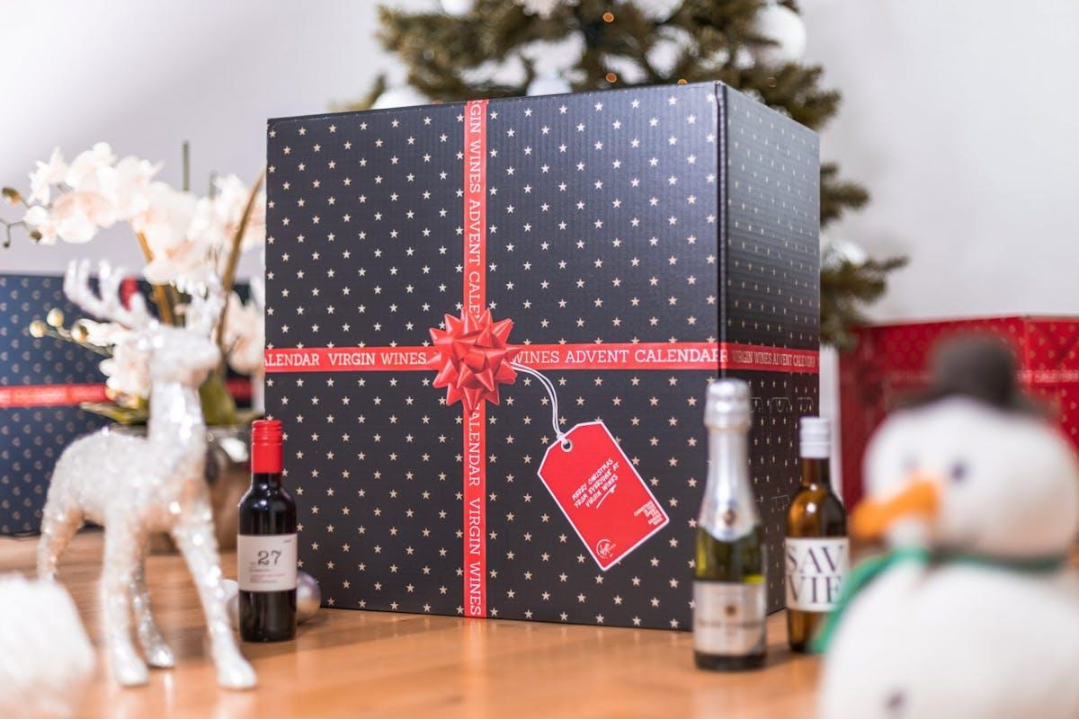 Best Wine Advent Calendars: Virgin Wines' Mixed Wine Advent Calendar, £69.99.