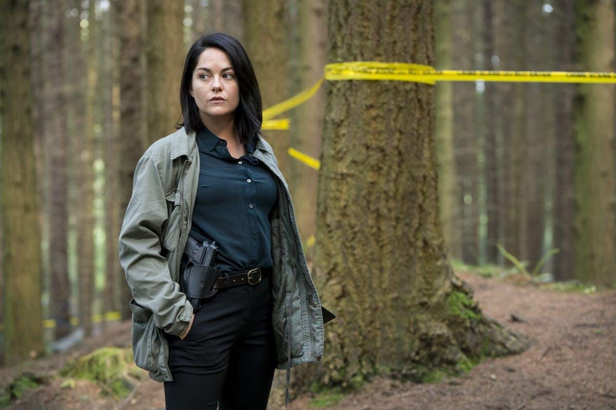 Sarah Greene as Cassie in BBC's Dublin Murders
