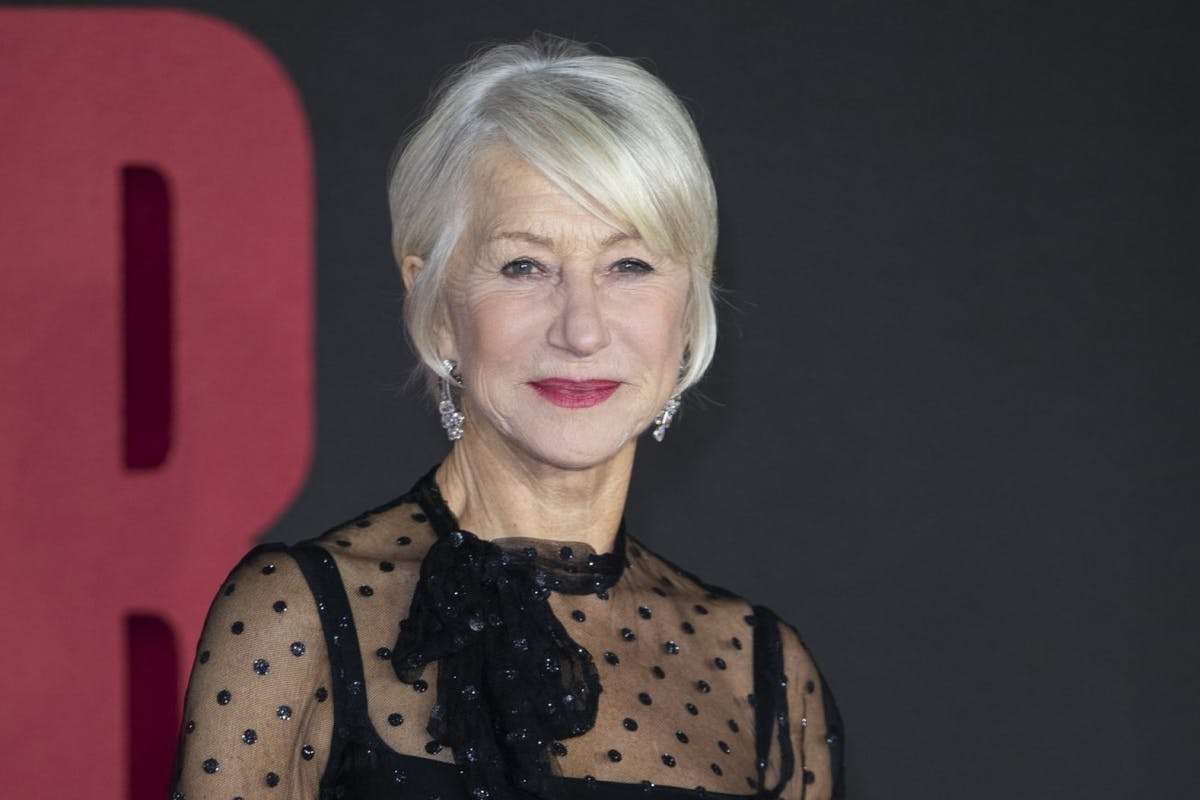Helen Mirren on being feisty