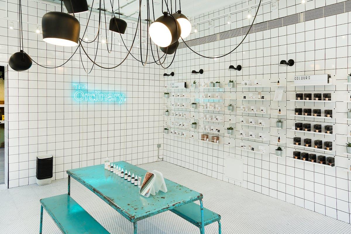 Inside a Deciem store