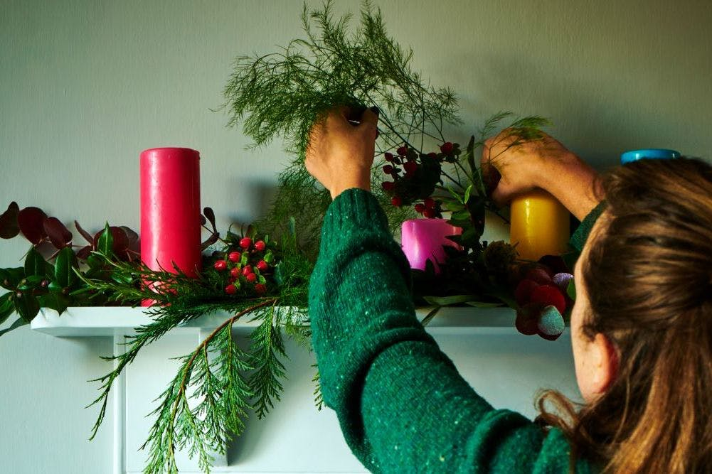 This Nordic floristry hack will make your home look instantly festive