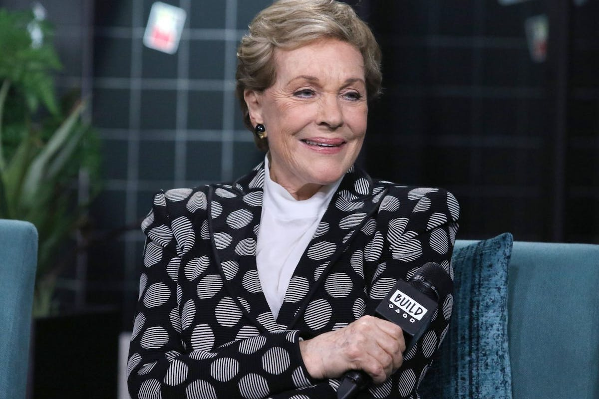 Julie Andrews is currently promoting her new book.