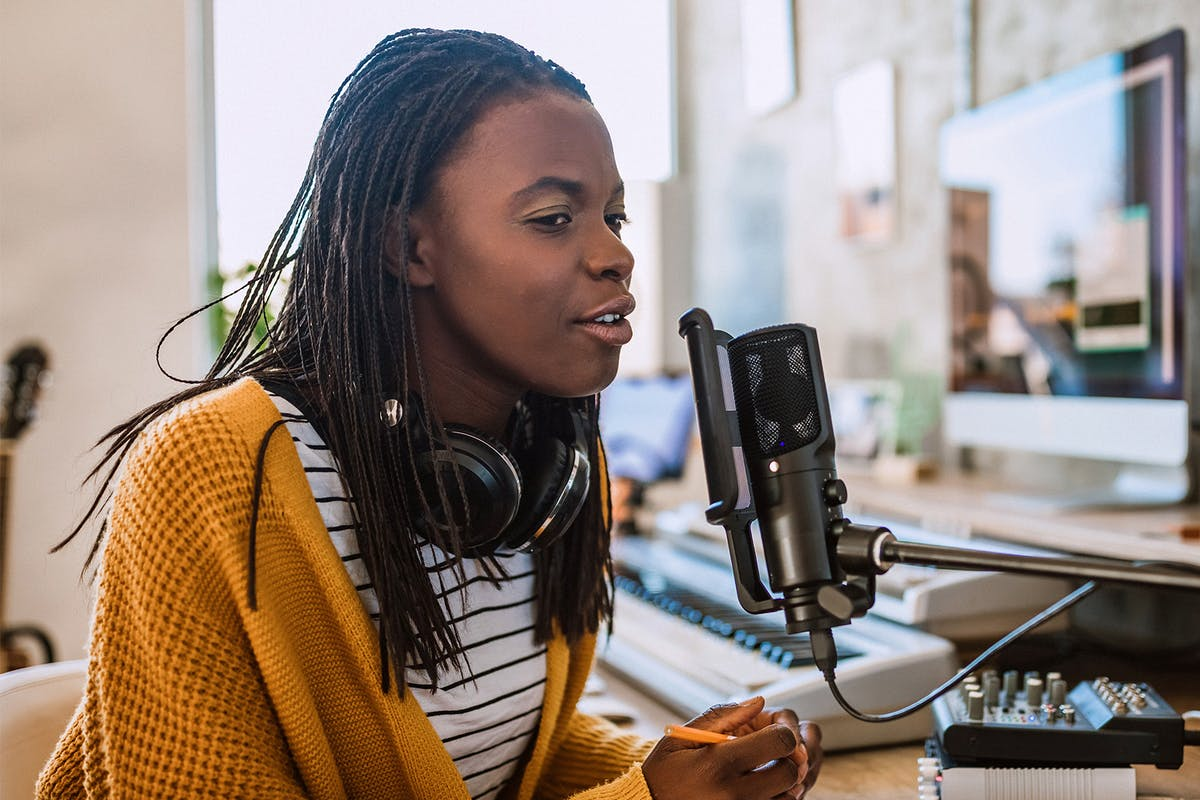 Why more women should be podcasting
