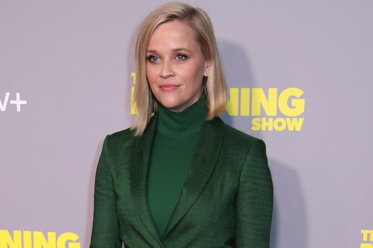 """LONDON, ENGLAND - NOVEMBER 01: Reese Witherspoon attends a special screening of Apple's """"The Morning Show"""" at The Ham Yard Hotel on November 1, 2019 in London, England. (Photo by David M. Benett/Dave Benett/Getty Images for Apple)"""