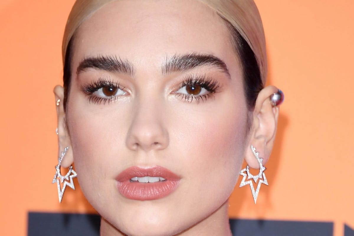 Dua Lipa on social media