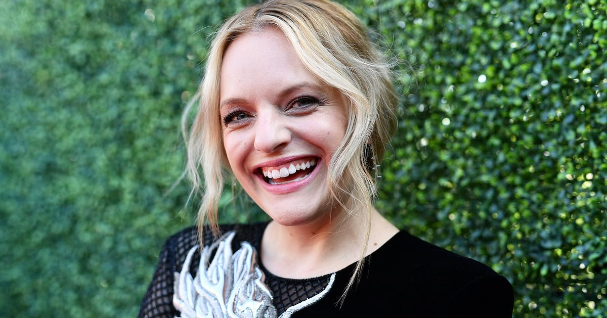 Elisabeth Moss loves cheesy Christmas movies as much as you do