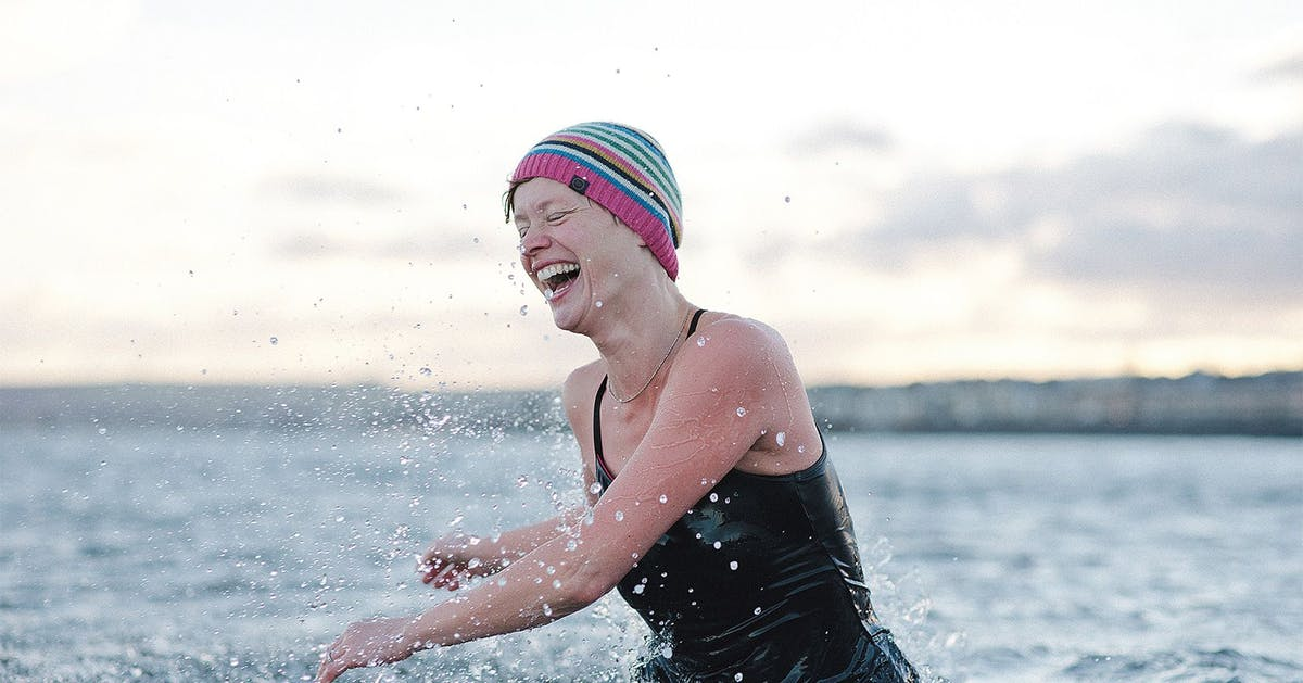 """It stops my mind from churning"": The healing powers of cold water swimming"