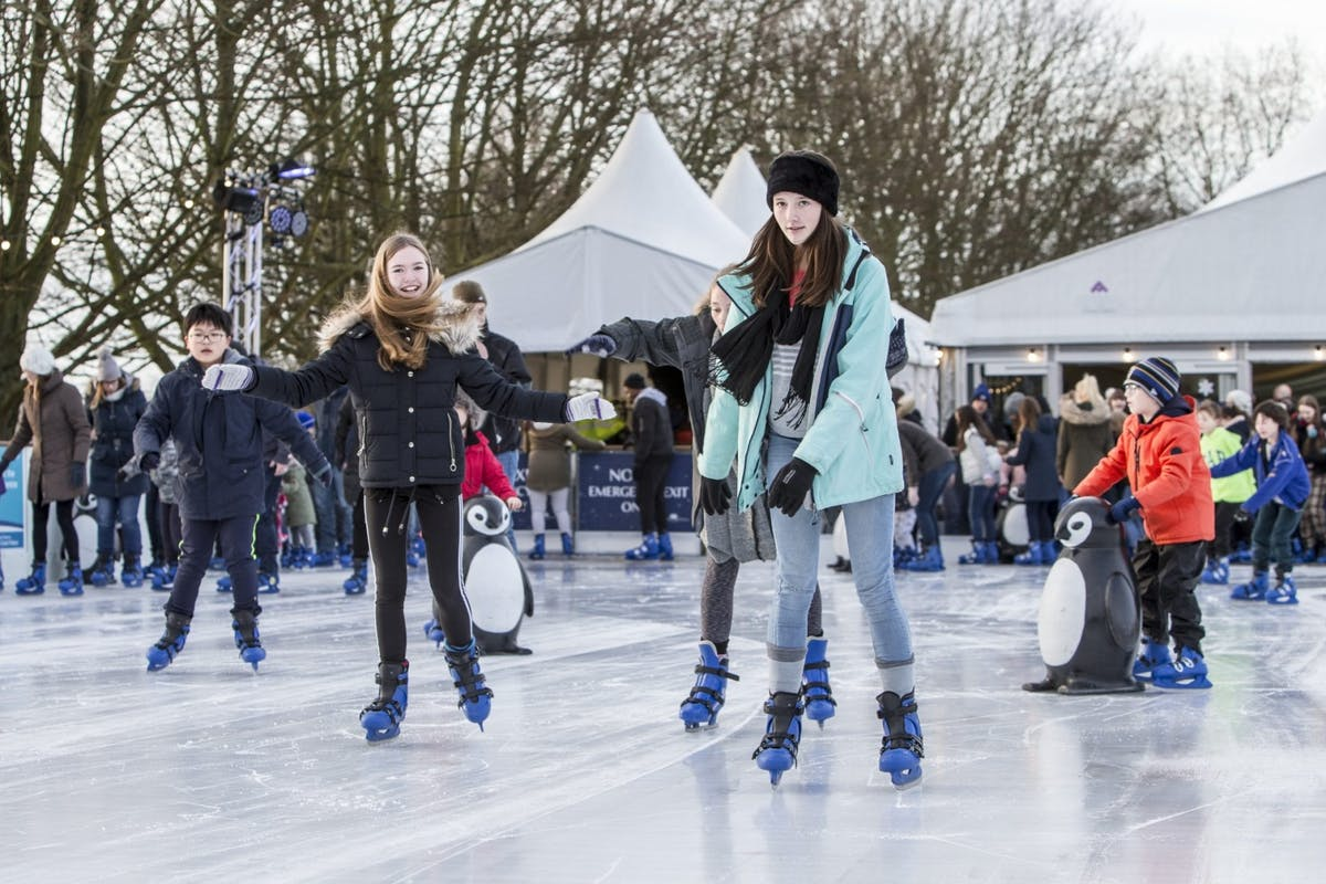 Best outdoor ice rinks in London: Queen's House Ice Rink.