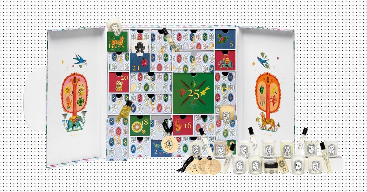 Diptyque's advent calendar is here – and it contains actual lucky charms