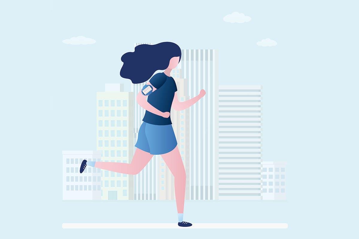 running myths bella mackie jog on
