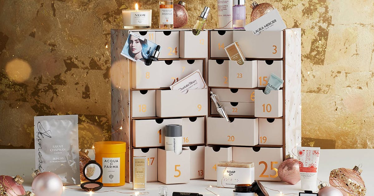 The best beauty advent calendars out there because December is so close