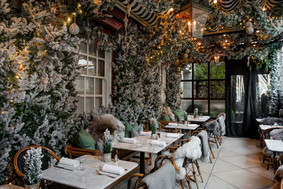 Winter rooftop bars and terraces in London you have to visit this Christmas