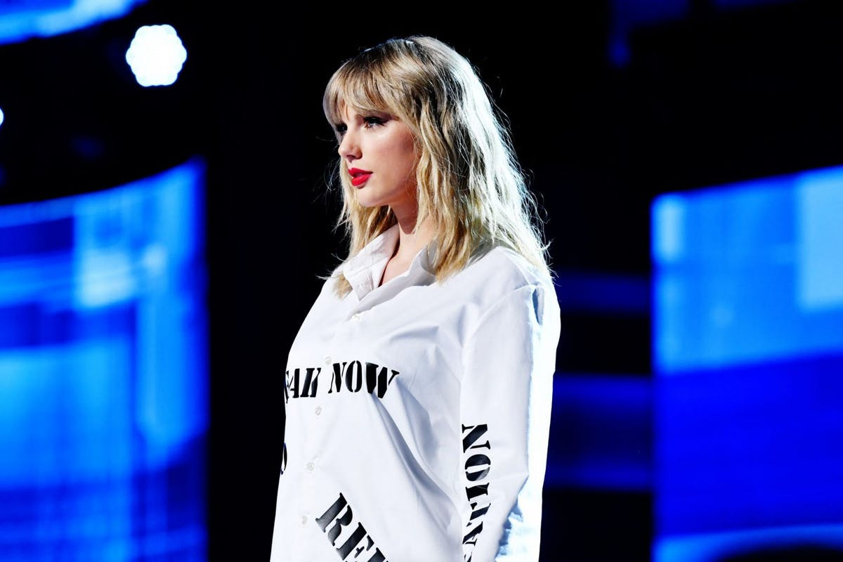 Taylor Swift performed The Man at the VMAs in a very political performance.