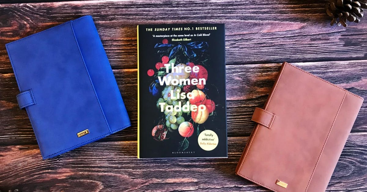 Win a signed copy of Three Women by Lisa Taddeo plus luxury notebooks
