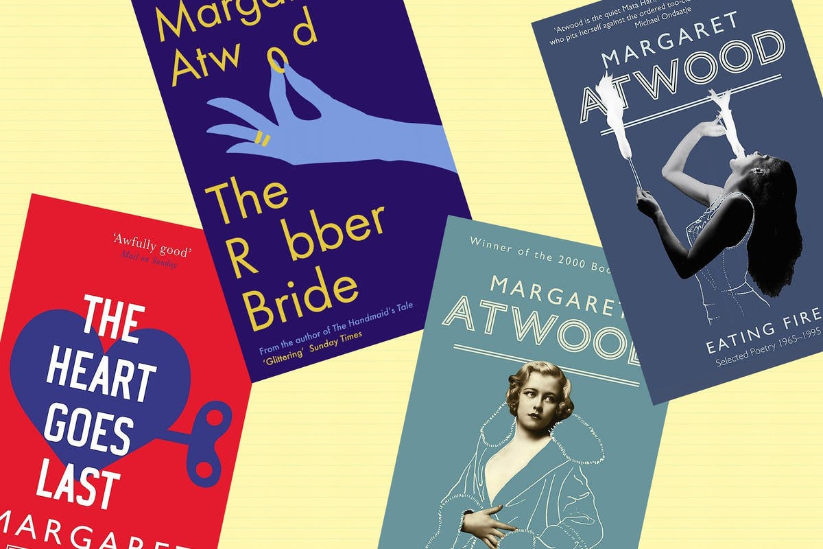 10 books by Margaret Atwood you need to read.