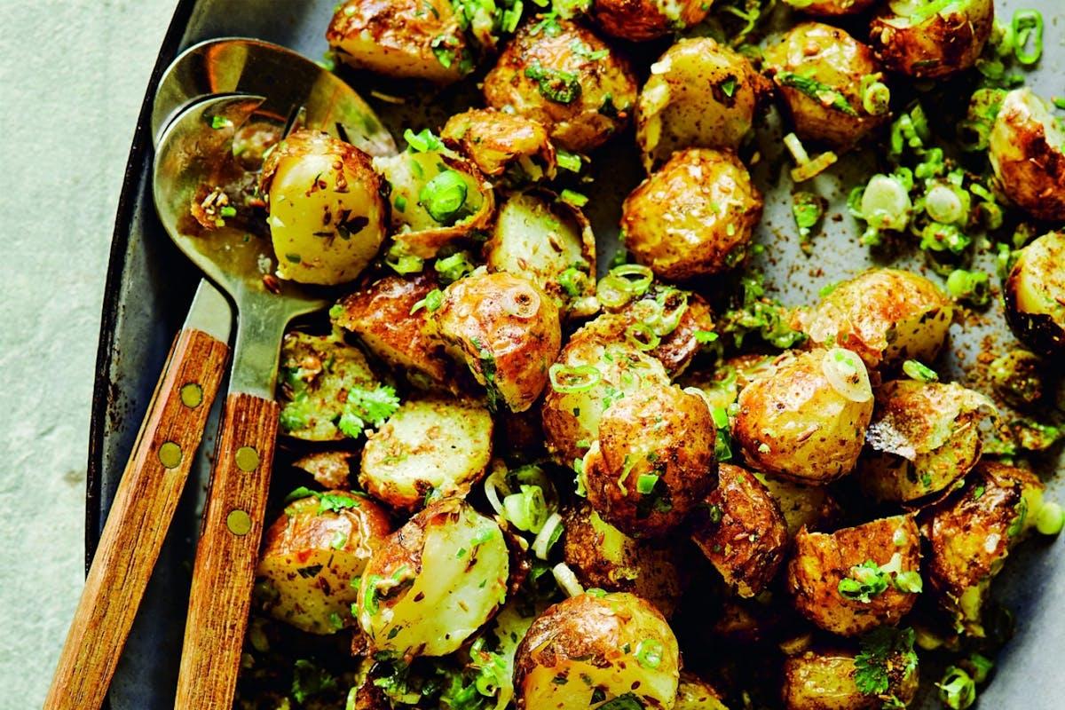 Dishoom's gunpowder potatoes