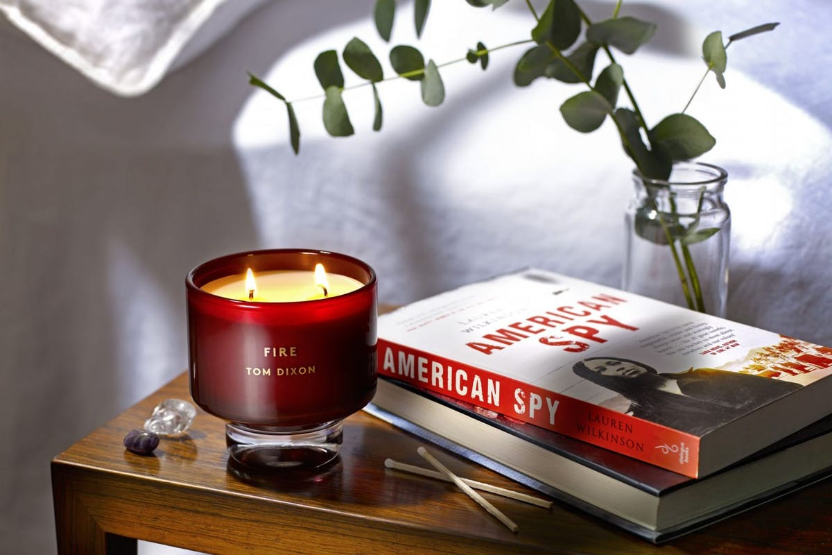 We've paired this winter's best books with the cosiest home scents