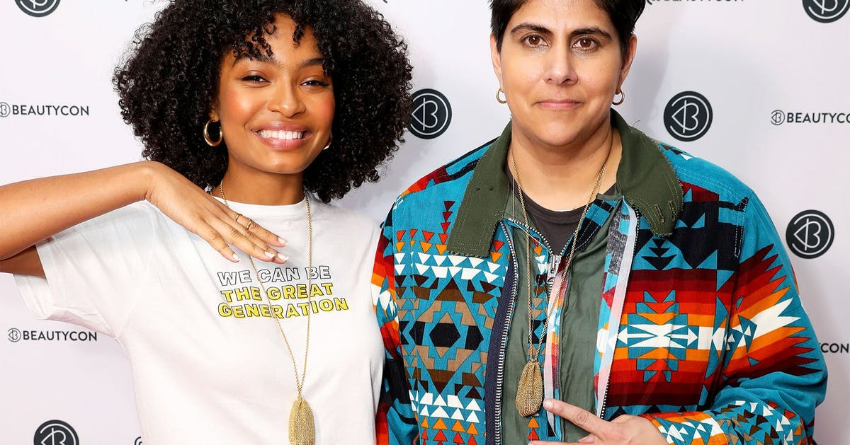Yara Shahidi speaks to Beautycon CEO Moj Mahdara about feeling like an outsider and shaking up the industry