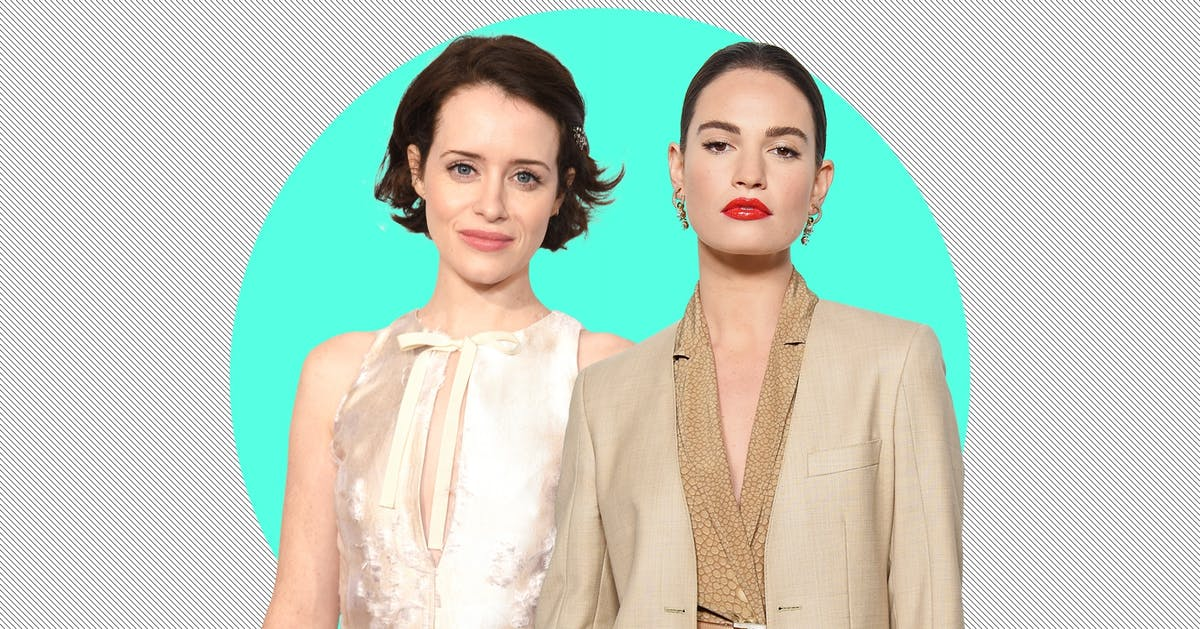"""Lily James, Claire Foy & Matt Smith: the real problem with this so-called """"love triangle"""""""