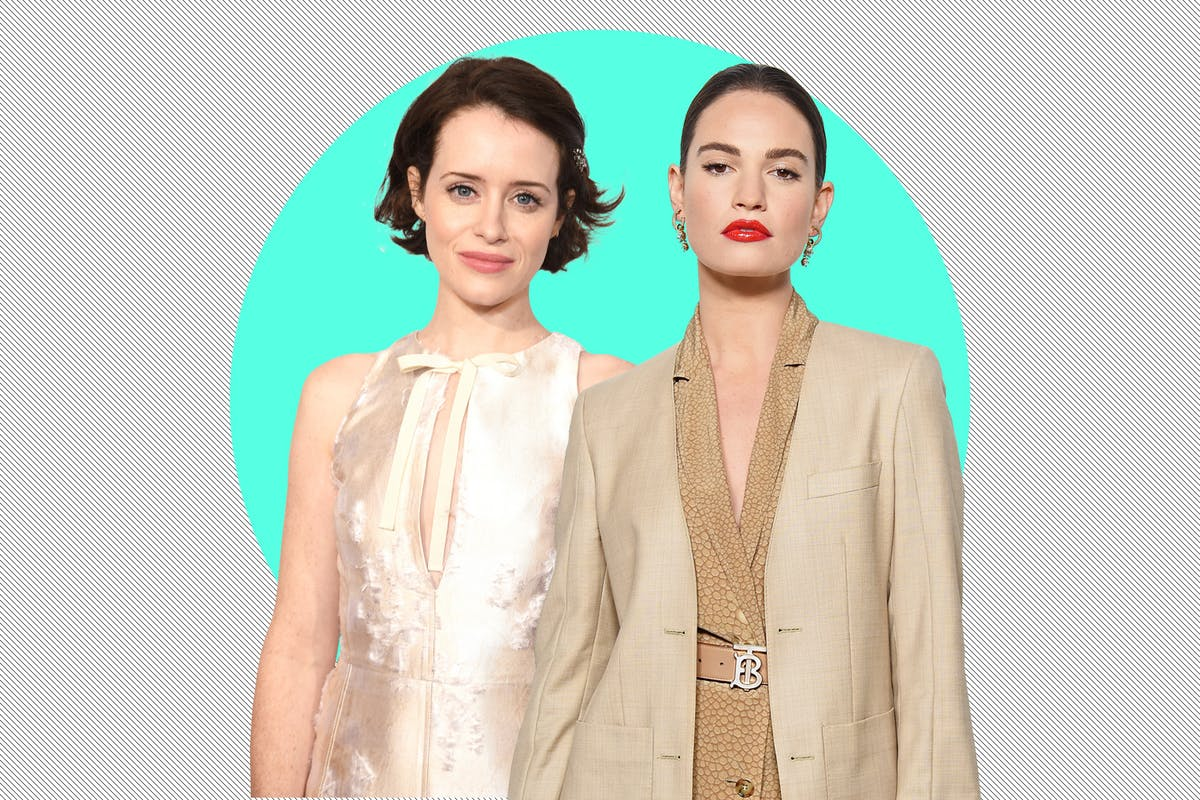 """Lily James and Claire Foy pitted against each other in sexist """"love triangle"""" reports"""