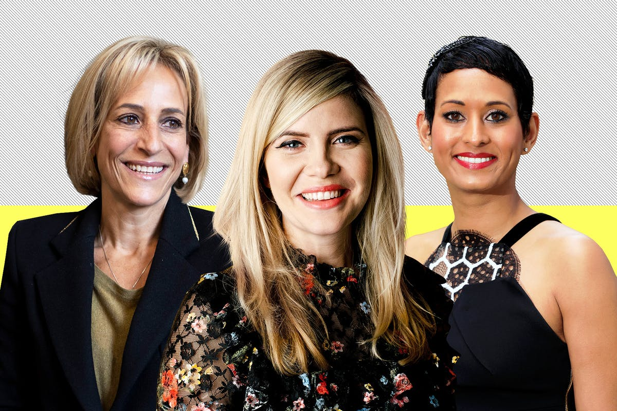 Best female political journalists.