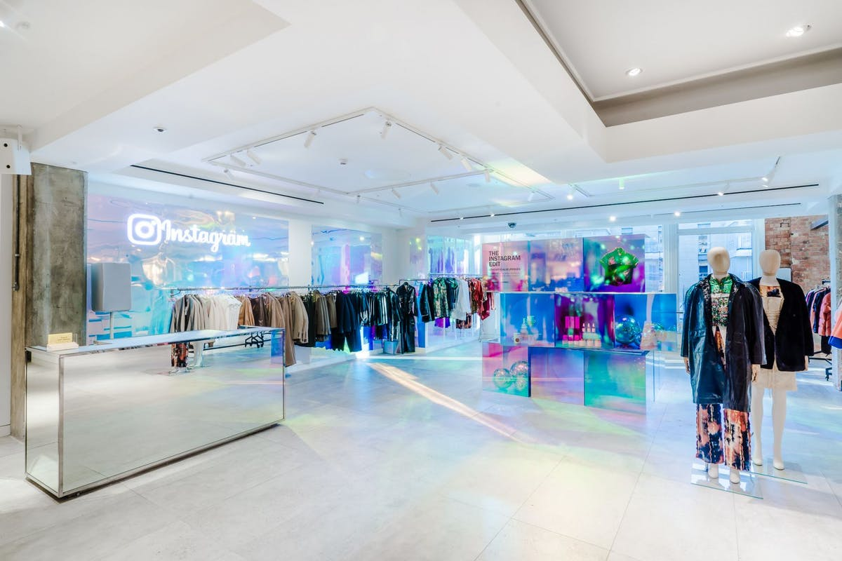 Instagram and Selfridges have teamed up so you can shop the app IRL
