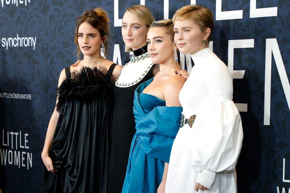 Little Women 2019: Emma Watson, Saoirse Ronan, Florence Pugh and Eliza Scanlen on the red carpet.