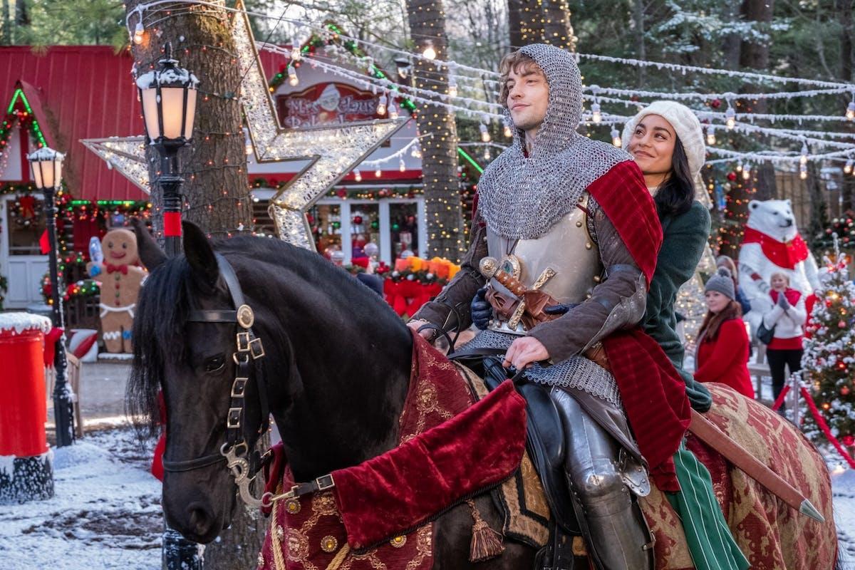 The Knight Before Christmas - Netflix production stills