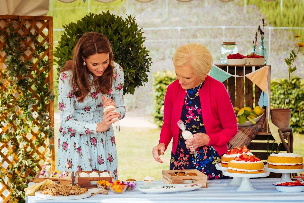 Kate Middleton and Mary Berry in A Berry Royal Christmas