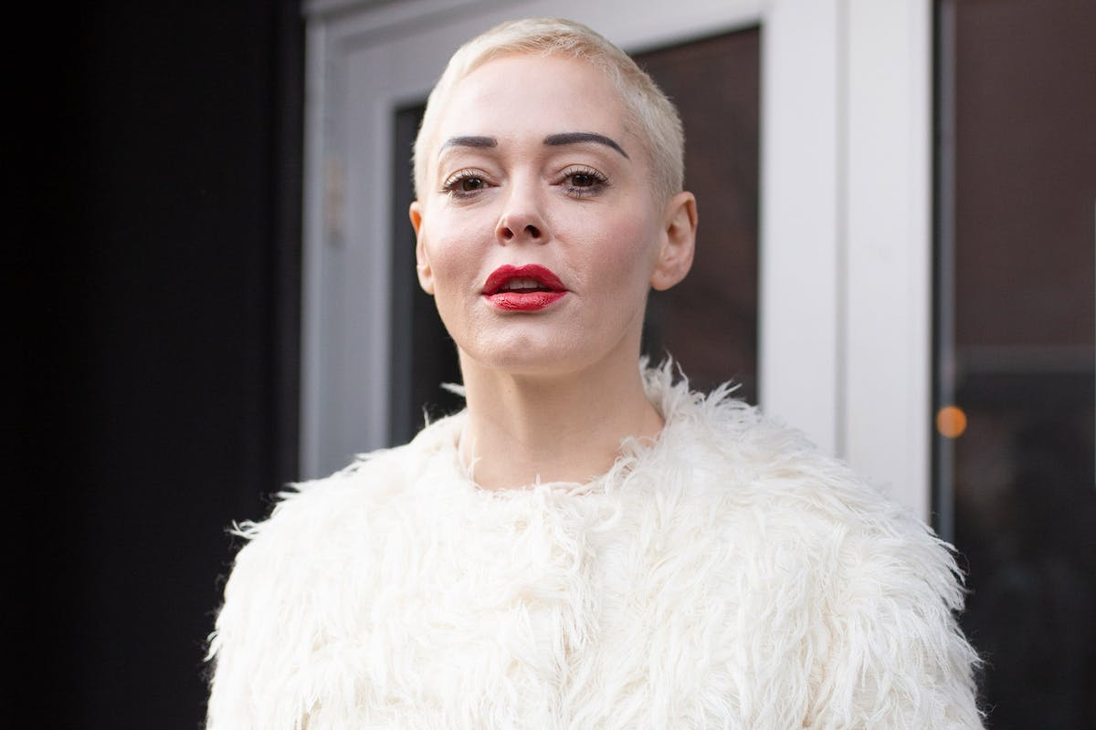 "Rose McGowan responds to Harvey Weinstein's ""forgotten man"" comments in a powerful statement."