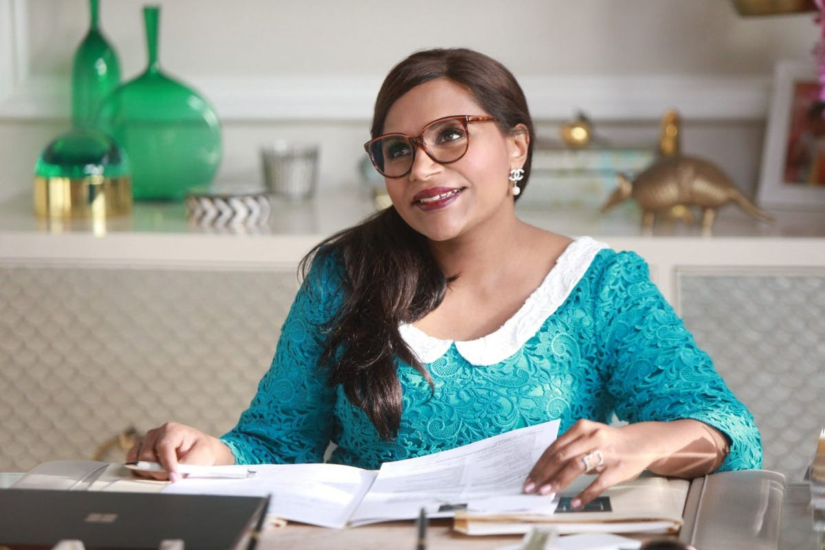 """""""The Mindy Project, created by and starring Mindy Kaling, was the first time I'd seen an Indian woman presented as desirable."""""""