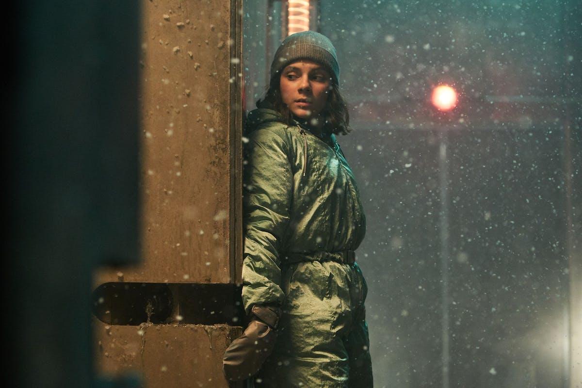 His Dark Materials: Dafne Keen as Lyra.
