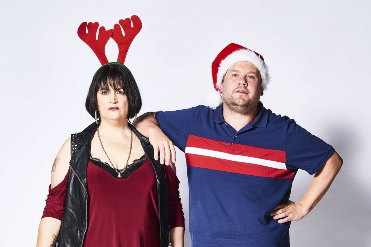 Gavin And Stacey: Ruth Jones and James Corden co-created the series.