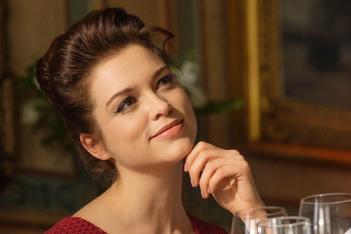 The Trial of Christine Keeler episode two: Christine Keeler (SOPHIE COOKSON).
